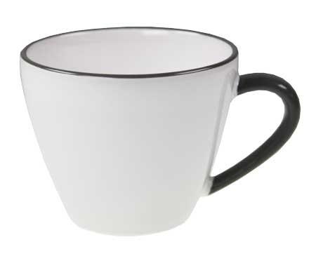Gmundner Keramik Weißer Traum Kaffeeobere Gourmet (TKGO09) 0,2 l