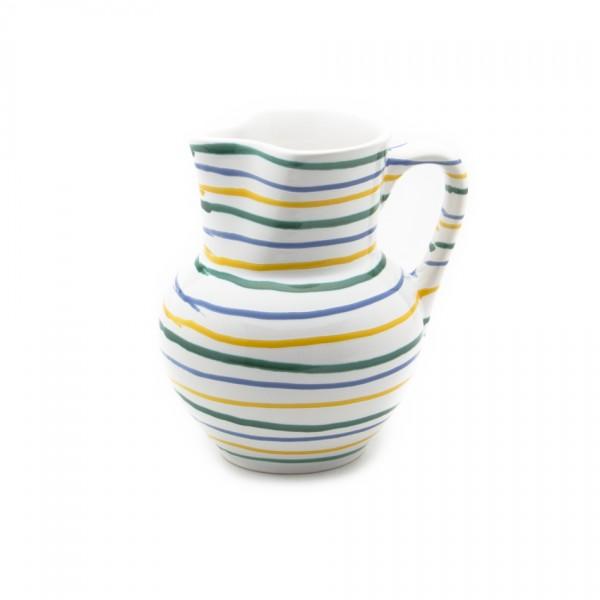 Gmundner Keramik Buntgeflammt Krug Wiener Form KRWF10 1,5 l