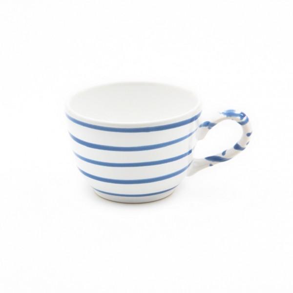 Gmundner Keramik Blaugeflammt Kaffee-Obertasse glatt classic (TKGL10)