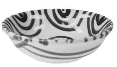 Gmundner Keramik Graugeflammt Kompottschale (SAKO14) 14 cm