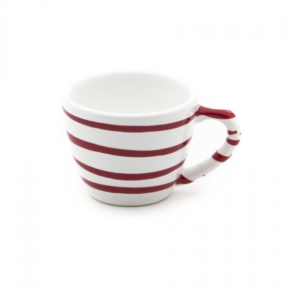 Gmundner Keramik Rotgeflammt Espresso-Obertasse Gourmet (TEGO06) 0,06 l