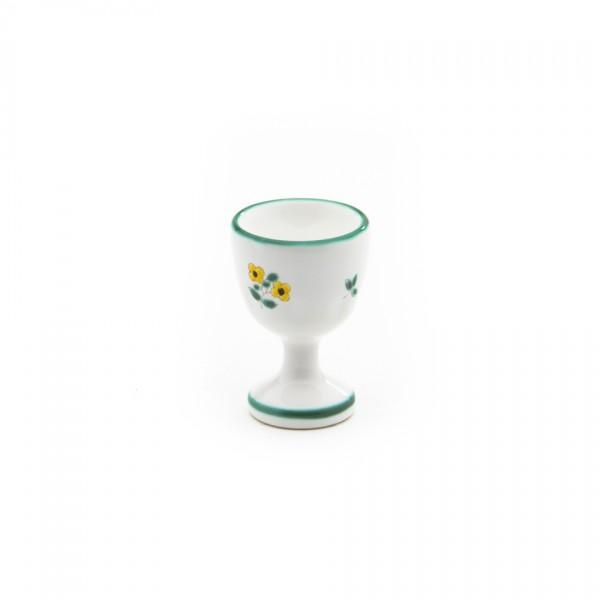 Gmundner Keramik Streublume Eierbecher glatt classic m. Fuß (BEGL05) 12 cm