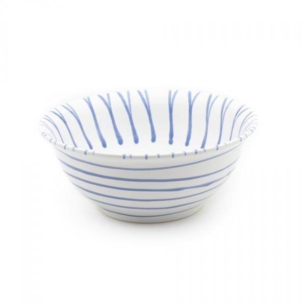 Gmundner Keramik Blaugeflammt Salatschüssel rund (SRSA26) 26 cm